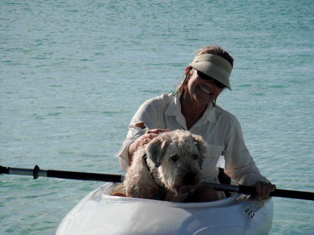 Farley Sue Kayaking