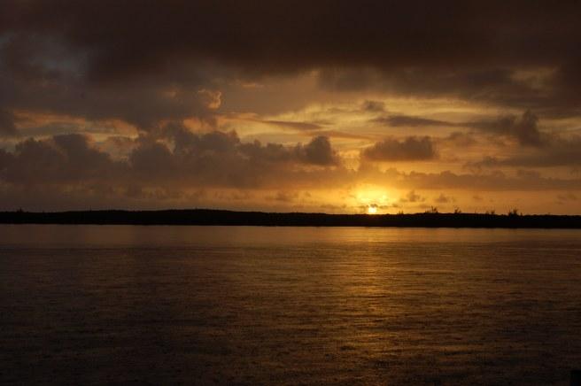 Sunrise At Bonds Cay