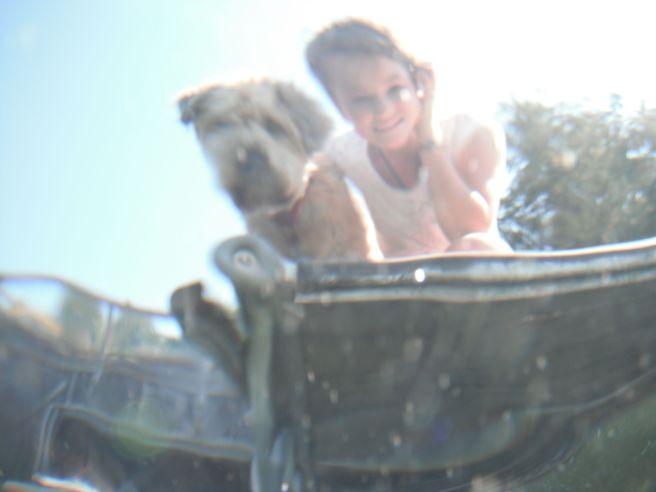 Farley wants to swim