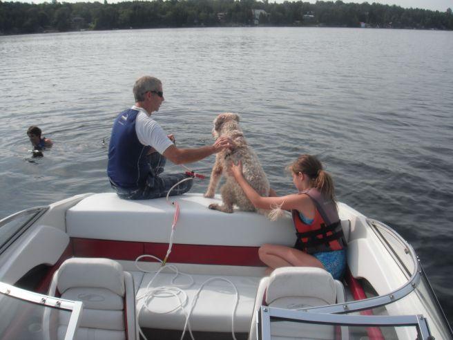 Farley wants to waterski