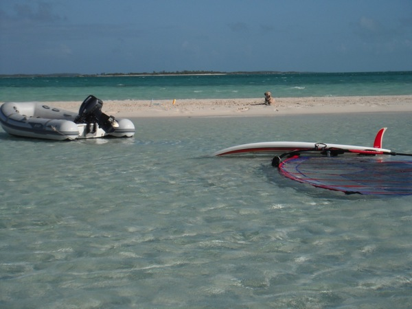 Sandbar for Windsurfing