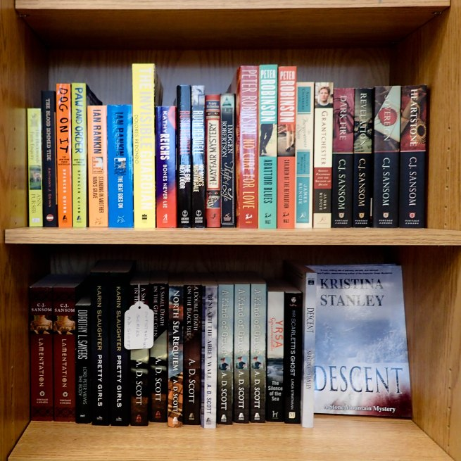 Descent On the Shelves at Books On Beechwood