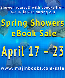 Imajin Spring Showers Badge